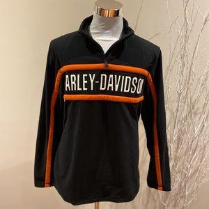 Men's fleece Harley-Davidson pullover size M